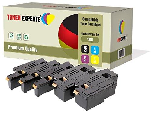 set-of-5-toner-experte-compatible-premium-toner-cartridges-for-dell-1250c-1350cn-1350cnw-1355cn-1355