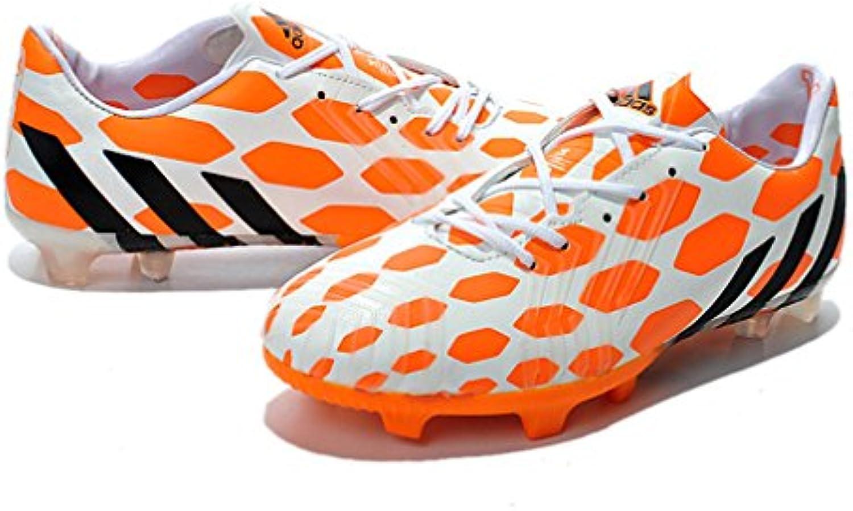 Generic Herren Die Kuh Predator Instinct XIV FG 14 orange Fußball Schuhe Fußball Stiefel
