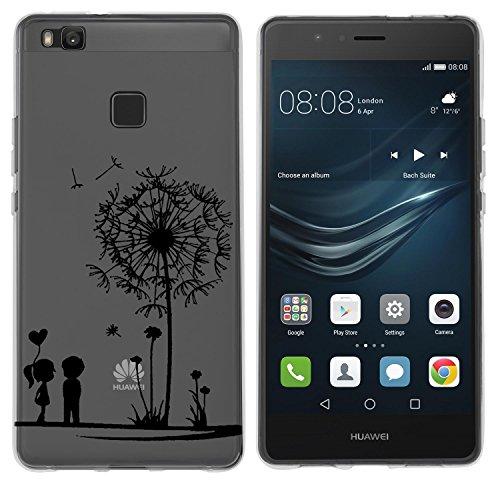 yayago-Cover per Huawei P9Lite cellulare Ornament motivo Love Tattoo trasparente