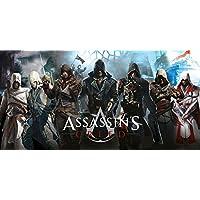 Assassin 'S Creed leyendas algodón toalla de playa (75x 150cm)