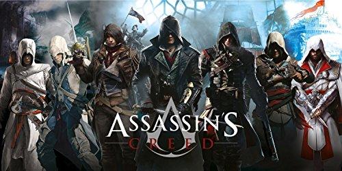 Ubisoft Assassin 's Creed Legends Strand- und Badetuch, Baumwolle, 75x 150cm