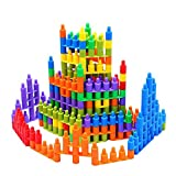 Eizur Bambini Proiettile Forma Costruzione Blocchi Educativi Costruttivi Gioco Fai Da Te Regalo Intelligenza Giocattolo Materiale sicuro con 3C Certificazioni