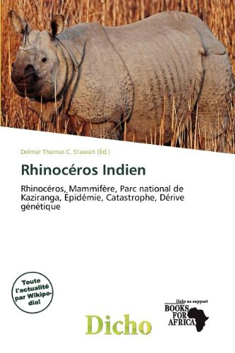 Rhinoc Ros Indien