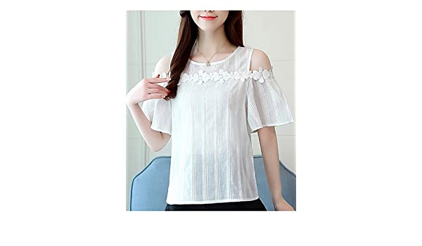 Solid Colored YFLTZ Womens Basic Blouse