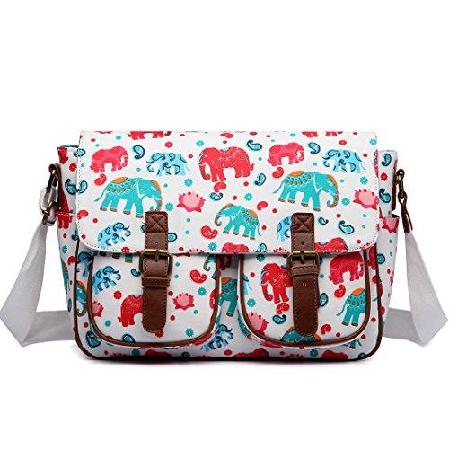 Miss Lulu , Sac bandoulière pour femme taille unique Elephant Beige