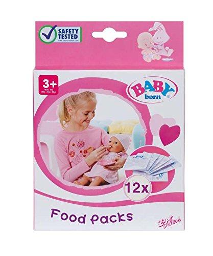 Zapf 779170 - Baby born Nahrung, 12 Beutel