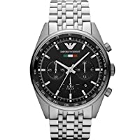 Emporio Armani AR5983 - Wristwatch Men's, Stainless Steel Strap Silver