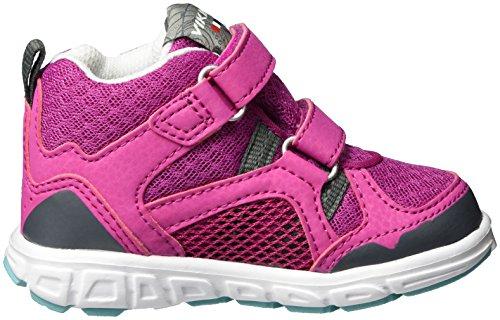 Viking Hobbit Mid GTX Unisex-Kinder Outdoor Fitnessschuhe Pink (Magenta/Turquoise)