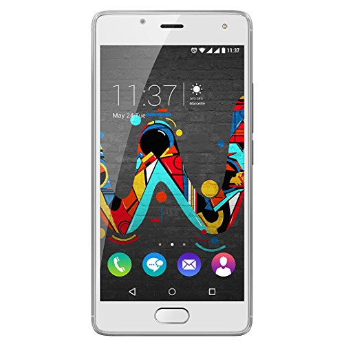 Wiko U Feel 16GB 4G Color blanco - Smartphone (SIM doble, Android, MicroSIM, EDGE, GPRS, GSM, WCDMA, LTE)