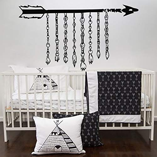 Wall Stickers Quotes,Memorial Rope Arrow Bed Artistic Wallpapers Murals Home Poster Wall Removable Bedroom Hanging Sticker Decals Gift For Posters -