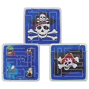 Goki 4013594132022 Kugelgeduldspiel Pirat aus Kunststoff - Producto