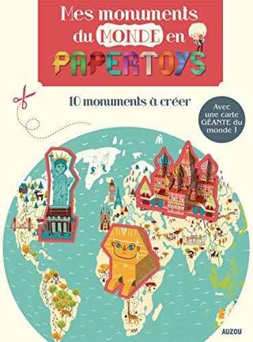 Mes monuments de monde en papertoys