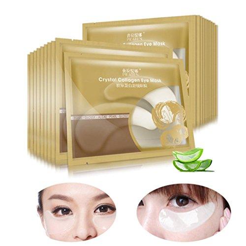 Augenmaske 5 Paar Anti-Falten Dunkles Kreis Gel Kollagen Unter Augen Aufnäher Auflage Maske Tasche Augen Schutzmaske (Auge Unter Taschen)
