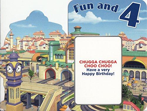 Image of Chuggington Koko 4th Birthday Card by Gemma