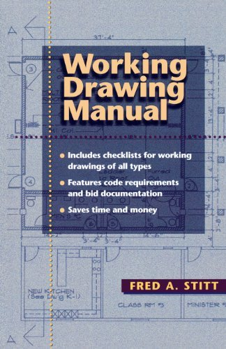 Working Drawing Manual by Fred Stitt (1998-05-22)