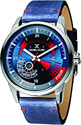 Daniel Klein Analog Blue Dial Mens Watch-DK11298-2