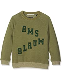 Scotch & Soda Ams Blauw Sweat, Sudadera para Niños