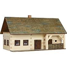 walachia ferme colombage en bois kit de construction maquette chelle 1 - Maquette Maison A Construire
