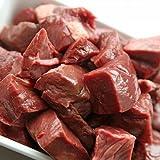 Rindermuskelfleisch Stücke Barffleisch 10kg Hund