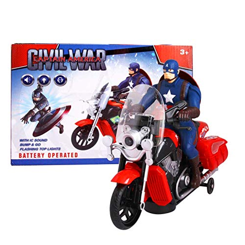 PA Toys 2288B Captain America The Civil War Motorcycle Toy
