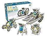 TECH Blaze 14 in 1 Solar Educational Robot, Build Your Own Robot DIY