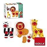Jumbo Spiele Goula D55238 - Schraub und Spiel, 30-teilig