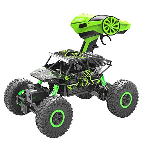 RC Car,Rabing 2.4HZ Electric Rock Crawler Radio Control Cars Off Road high speed Racing Remote Control Cars-Green (Green)
