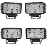 sailun 18W * 4trabajo lámpara LED Light Bar Offroad adicional para vehículos iluminación de trabajo resistente al agua IP67Faro para Jeep 4WD SUV ATV