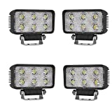 SAILUN 4 x 18W Arbeitsleuchte LED Light Bar Offroad...