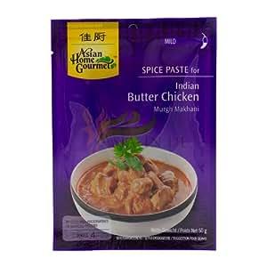Asian Home Gourmet Würzpaste für indisches Huhngericht mit Butter 50g