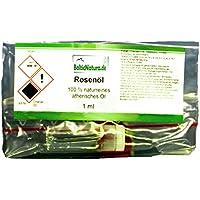Rosenöl (1 ml) 100% naturreines ätherisches Öl Rosen Öl Rosa damascena Türkei preisvergleich bei billige-tabletten.eu
