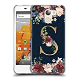 Official Nature Magick S Floral Monogram Gold Navy 2 Soft
