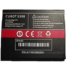 Bateria CUBOT S308, 2000 mAh voltaje 4.2v High quality