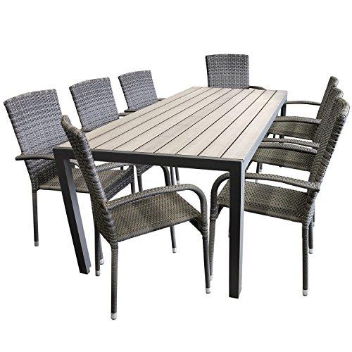 schicke-9tlg-gartengarnitur-aluminium-polywood-non-wood-205x90cm-gartentisch-sitzgruppe-rattan-garte