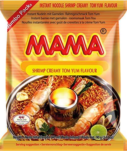 Mama Instant Nudeln Garnelen Rahm 90g, 30er Pack (30 x 90 g)
