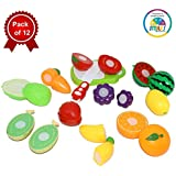 Smiles Creation Plastic Cutting Fruit Set Toy for Kids