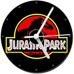 Parque Jurasico Jurassic Park B Reloj CD Clock 12cm