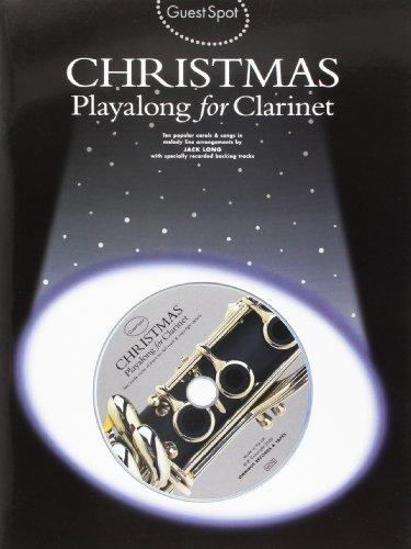 Guest Spot: Christmas Playalong For Clarinet por Jack (Arranger Long