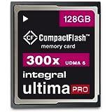 Integral Memory INCF128G300W CompactFlash UltimaPro 128GB Speicherkarte 300x
