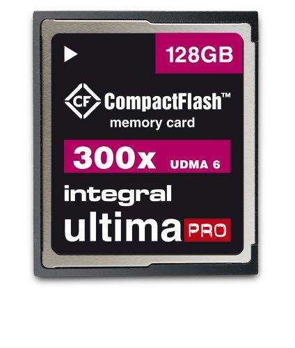 45 X Compactflash-karte (Integral Memory INCF128G300W CompactFlash UltimaPro 128GB Speicherkarte 300x)
