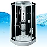 AcquaVapore DTP8058-2300 Dusche Duschtempel Komplett Duschkabine 100x100