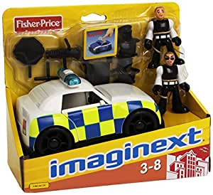fisher price auto polizia imaginext giochi e. Black Bedroom Furniture Sets. Home Design Ideas
