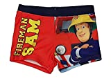 Feuerwehrmann Sam Badehose rot (116)