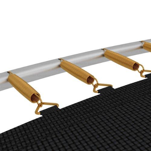 Ampel 24 Trampolin Feder-Set | 24 Spiralfedern | Länge Zugfeder ca. 178 mm | Sprungfeder extra verstärkt & lange haltbar -
