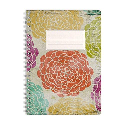 WIREBOOKS Notizbuch | Notizblock | Notizheft | Spiralblock 5036 DIN A5 120 Seiten 100g Papier blanko
