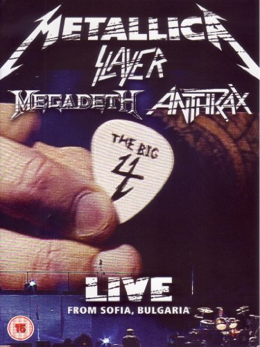 Metallica Slayer Megadeth Anthrax - The big 4 - Live from Sofia, Bulgaria