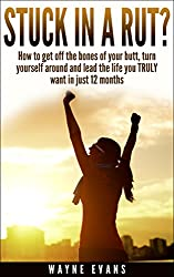 Stuck in a Rut?: Self help: How to get off the bones of your butt, turn yourself around and lead the life you truly want in just 12 months. (Self Help Book Series)