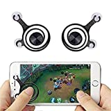 #9: Zwing™ Mobile Joystick Controller for Smartphones and Tablet (Black)-Pack of 2, Touch Screen Game Controller