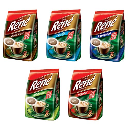 Philips Senseo Luxury Cafe Rene Creme Range Coffee Pads Pods Bag 252 g – Available in Various Flavours 51UX1Jq5lyL