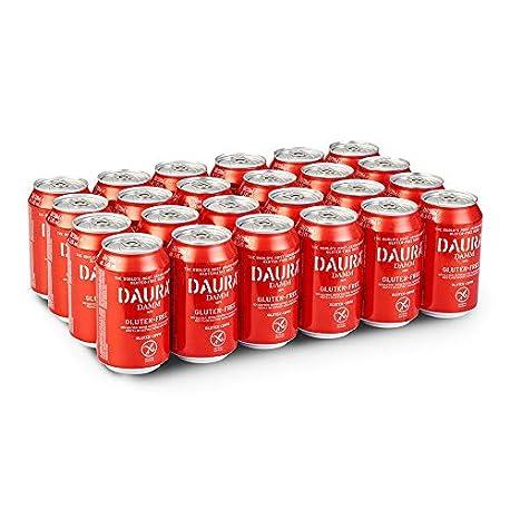 Daura Damm Cerveza Sin Gluten Caja de 24 Latas x 330 ml Total 7 92 L
